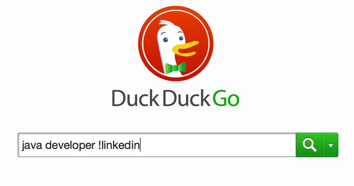 """Use the DuckDuckGo """"Bang"""" command for super easy site searches"""