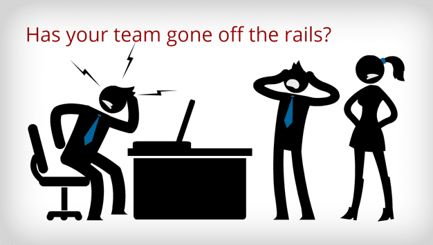 6 steps to refocus a team that's gone off the rails